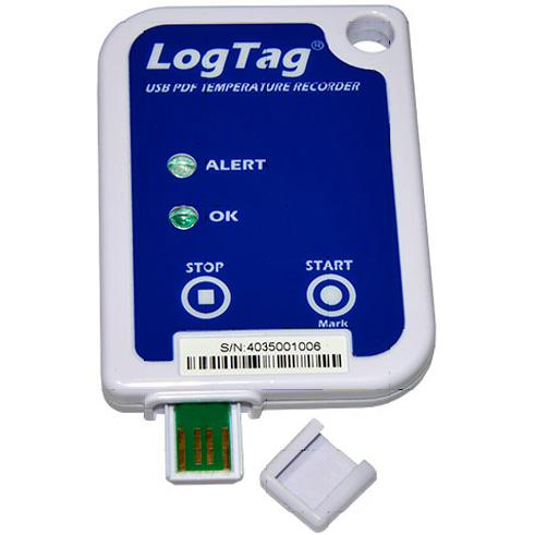 "TERMÓGRAFO LOG TAG USRIC 8 USB - Termógrafo LOG TAG ""USRIC-8 USB PDF"""