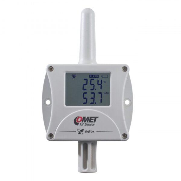 w3810 TempHum 600x600 - Registrador inalámbrico Temperatura y Humedad W3810 T+H