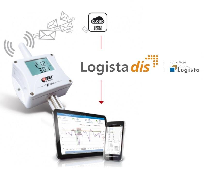 LOGISTA COMET - LOGISTADIS apuesta por el sistema COMET - SIGFOX